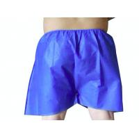 China Non Woven Disposable Surgical Underwear , Men'S Disposable Boxer Briefs on sale