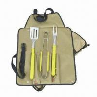 Cheap Barbecue tool kit with stainless steel blade for sale