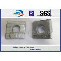 Cheap Crane Rail Clips For Railroad Construction / Railway Fasteners KPO Rail Clamp for sale
