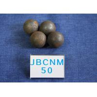High Precision Steel Balls For Ball Mill , Small Steel Ball Mill for Coal Production D50mm Surface Hardness 62-63HRC