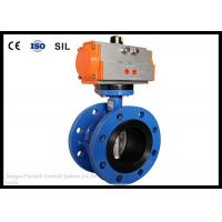 Cheap Wafer Butterfly Valve Actuator , Flange Butterfly Valve Pneumatic Actuator for sale
