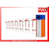 Cheap MX-60 Car Park Barriers , Vehicle Drop Arm Barrier With IC Card Interface for sale