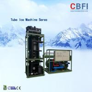 Cheap 30 Tons Tube Ice Machine Siemens PLC Control System Ice Tube Making Machine wholesale