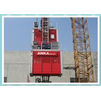 Cheap Middle Speed Personnel And Materials Hoist With VFC Control System / Building Hoist for sale