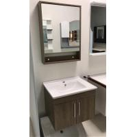 Buy cheap Contemporary Plywood Square Sinks Bathroom Vanities Natural Wood Color from wholesalers