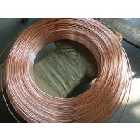 Cheap Coppered welded steel pipe / carbon steel tube for household refrigeration system for sale