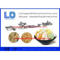 Cheap Puffed Food 3D Snack Pellet Machinery / Single Screw Extruder for sale