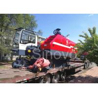 Cheap 360° Turning Hydraulic Telescopic Crawler Crane , Max 100T Lifting Capacity for sale