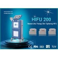 Cheap Three Cartridges Face Lifting High Intensity Focused Ultrasound Machine / Hifu System for sale
