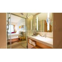 Cheap Custom Oval Silver Backed Mirror For Door / Wardrobe , Copper And Lead Free Mirror wholesale