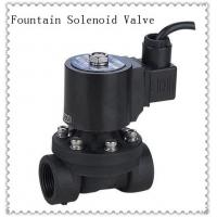Cheap 24VDC  PVC Underwater Fountain Solenoid Valve Normally Closed Customized for sale