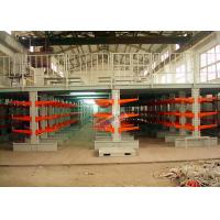 Industrial Orange Extra Heavy Duty Cantilever Racks For Plywood / Furniture Parts