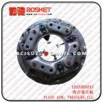 Cheap ISUZU CYZ51K 10PE1 CLUTCH PLATE COVER 1312203212 1-31220321-2 for sale