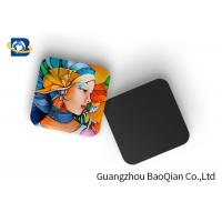 Cheap Mini 3D Personalised Tea Coasters / Cup Coasters , Custom Square Coasters Printing Placemat for sale