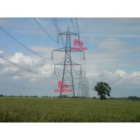 Cheap 400KV double circuit  transmission line steel tower for sale
