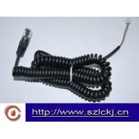 Cheap Telephone Handset Coil cable ( flat cable) for sale