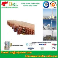 Buy cheap Low Pressure Boiler Super Heater Alloy Steel , Pendant Superheater Customized from wholesalers