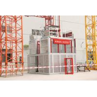 Cheap Builders Construction Hoist Elevator , Industrial Elevators And Lifts Lift For Construction Materials for sale