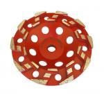 "Cheap 7"" S Segment Metal Bond Diamond Cup Wheel for Concrete ,hard granite grinding for sale"