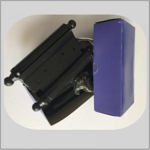 China Dark Brown Color Spring Loaded Hinges , Screen Door Spring Hinges Paper Box Packing on sale