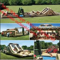 Cheap Inflatable Obstacle Course & Interactive Inflatables Adult Militiry Obstacle Course for sale