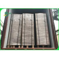 Cheap Wide 75×105CM Recycle Pulp 1200gsm / 2.0mm Grey Carton Gris For Boxes for sale