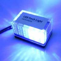Cheap Auto LED Strobe light  cuboid LED emergency warning Lamp blue color for sale