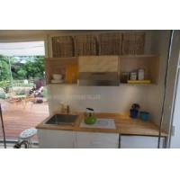 China Container House Internal Kitchen View (C-H 045) on sale