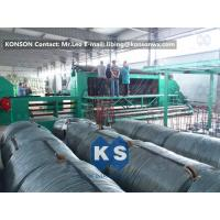 Cheap 22Kw High Efficiency Gabion Box Machine With 4.9mm PVC Wire / 80mmx100mm Mesh for sale