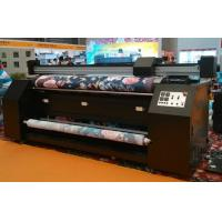 Cheap 3.2m Width No Pinch Roller Fabric Inkjet Printer For Dye Sublimation Silk Cotton Polyester for sale