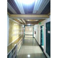 Cheap Plastic PVC marble backdrop wall sheet making machine production line for sale