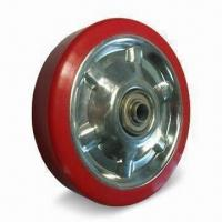 Cheap Polyurethane Wheel with 85 to 90A Shore Hardness for sale