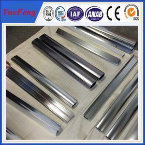 China Hot! kitchen closet aluminium angle price, mirrow polishing aluminium extrusion on sale