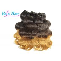 Cheap Glam Peruvian 26 inch Ombre Remy Hair Extensions Weave With No Shedding for sale