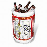 Cheap PVC Inflatable Ice Bucket, Available in Various Sizes, EN71 Certified for sale