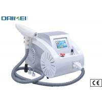 Quality Portable Q Switched Nd Yag Laser Tattoo Removal Machine , Pigment Removal wholesale
