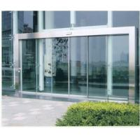 Cheap Remote Control Automatic Sliding Glass Doors with wood or stainless Steel Frame for sale