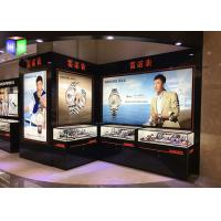 China Black Aluminum Advertising Light Boxes , Led Lightbox Sign With Picture Frame on sale