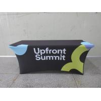 Quality Full Printed Advertising Flag Banners Large Branded Table Cloth wholesale