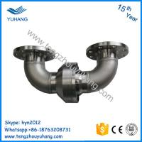 Cheap Stainless Steel double elbow flange connection hydraulic water swivel joint for sale