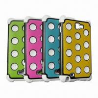 China Tri Layer cover for Samsung Galaxy Note/N7000/i717, All Colors available on sale