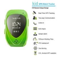 Cheap 015 go everywhere smart wrist watch gps personal tracker for kids/old people with sos call for sale