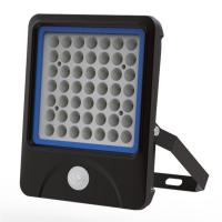 Cheap Security 50W LED PIR Floodlights Small Beam Angle 60° 50W 360 Degree for sale