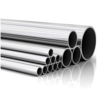 China ASTM 201 Bright Sanitary Seamless Stainless Steel Pipe 3 Inch Diameter on sale