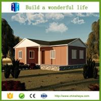 China China Factory Luxury Low Cost Light Steel Frame Prefab Modular House on sale
