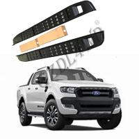 Cheap Hollow - Carved Auto Side Steps Steel Ford Ranger T6 T7 T8 201-2019 for sale