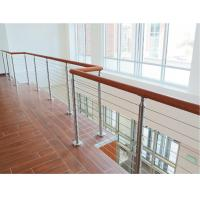 Cheap Building railing design 6 mm inox cable infill for wire cable balustrade for sale