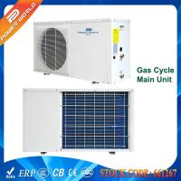 Cheap 6.8kw Mini Air Source Water Heater Built-in Water Pump for 500L Domestic Hot Water for sale