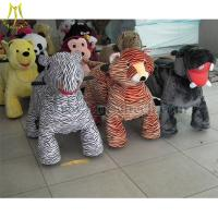 Cheap Hansel High Quality Hot Selling Coin Operated zippy animal rides battery motorized ride on animals walking car for sale