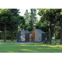 China Smart Home Vacation Resort Prefab Timber House Wood Interior Finishing on sale